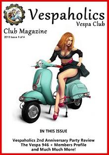 Vespaholics News Issue 1