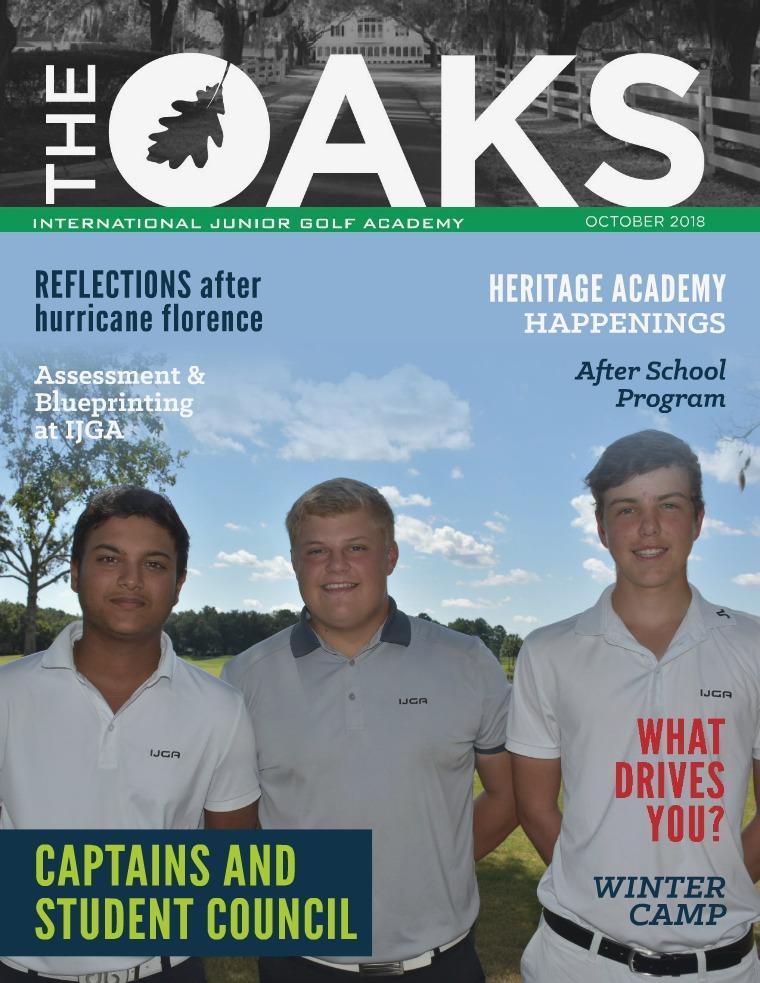IJGA Newsletter: The Oaks October 2018