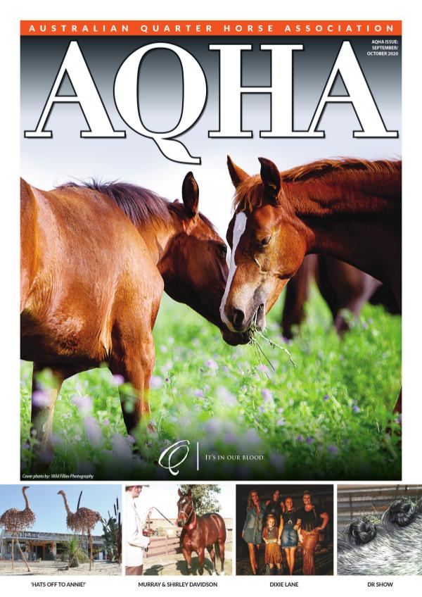 AQHA Magazine September / October 2020