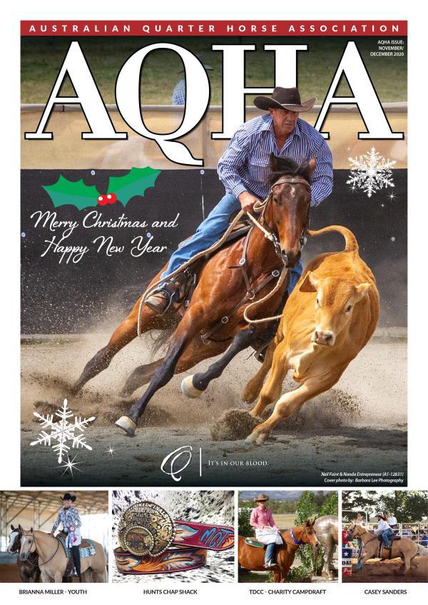 AQHA Magazine November / December 2020