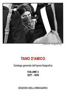 Tano D'Amico catalogo-1977-1978