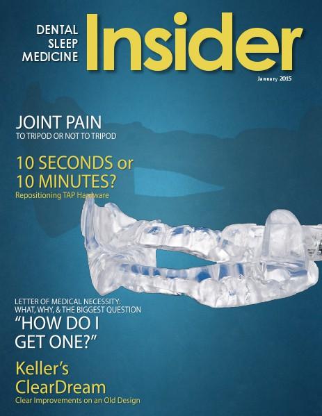 Dental Sleep Medicine Insider January 2015