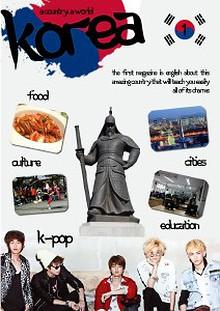 A country, a world; Korea.