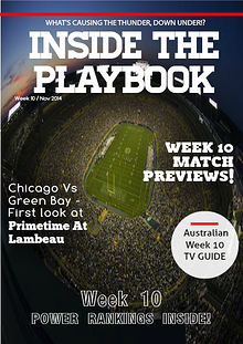 Inside The Playbook