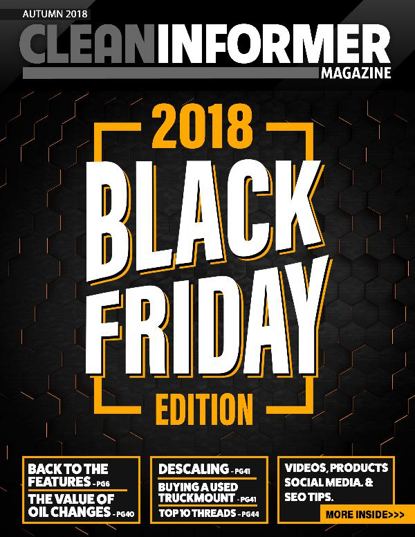 Clean Informer Magazine Black Friday 2018