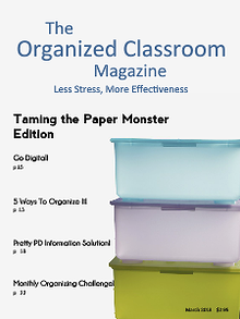 The Organized Classroom Magazine