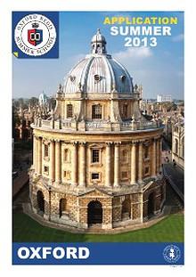 Oxford Summer School 2013