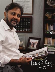 Farewell from Amit Roy
