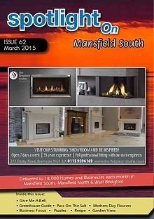 Spotlight Magazine for North Mansfield March 2015