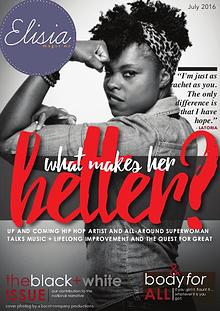 Elisia Magazine Issue 10 #WhatMakesHerBetter