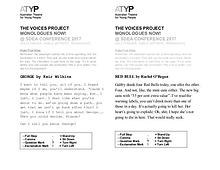 ATYP @ SDEA: The Voices Project