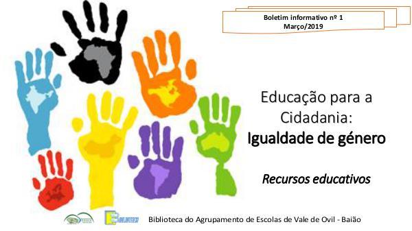 Educação para a Cidadania - Igualdade de Género Educação para a Cidadania