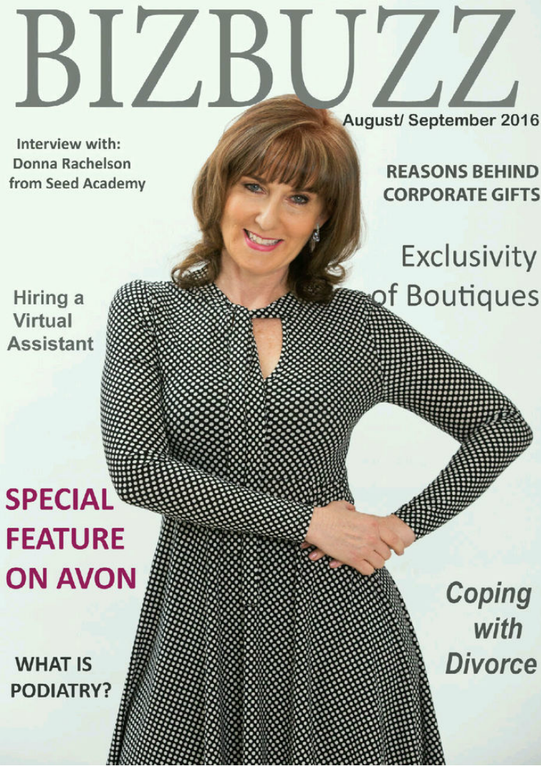 BizBuzz - the magazine for woman in business August/September 2016