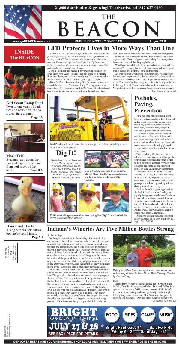 the BEACON Newspaper, Indiana beacon8-18web