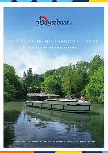 Catalogo Houseboat 2020