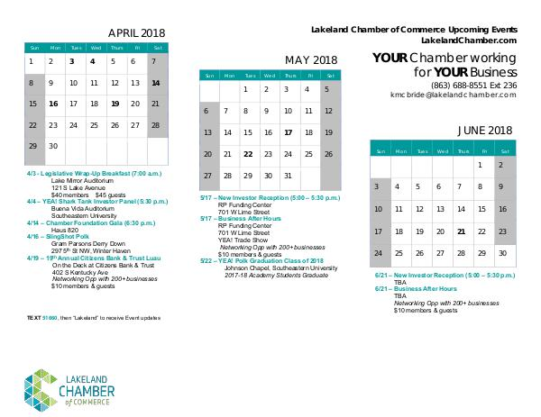 April 2018 - June 2018 April 2018