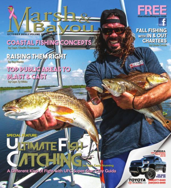 Marsh & Bayou Magazine Volume 17 • Issue 196