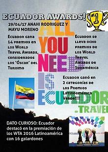 premios de ecuador