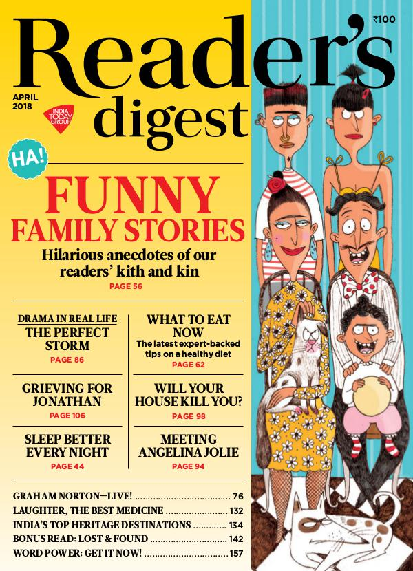 Reader's Digest April 2018