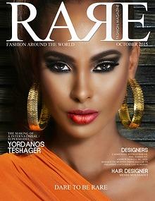 Rare Fashion Magazine October 2015