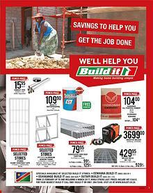 Build It Eenhana, Oshikango & Outapi