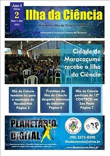 Newsletter Ilha da Ciência EDIÇÃO 2