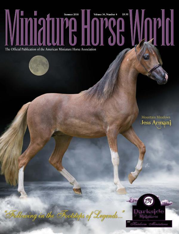 2018 Miniature Horse World Magazine SUMMER Volume 34, Number 4