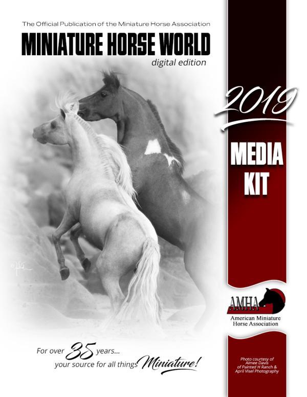 2019 Media Kit 2019 MHW Rates & Specs Sheets booklet
