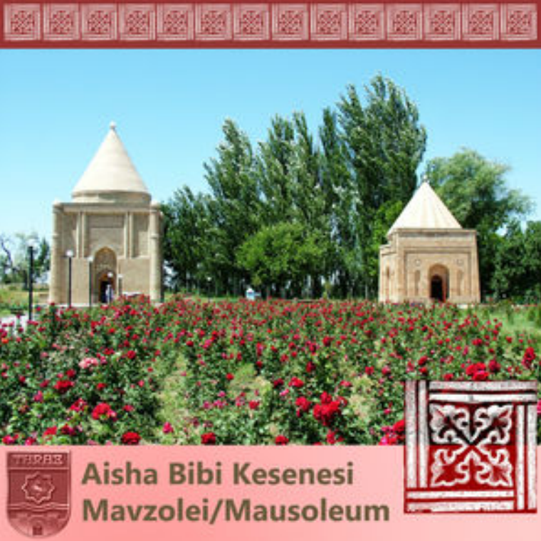 TARAZ/KZ Aisha Bibi Mausoleum Issue 02, 2015