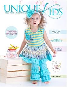 Unique Kids Model Magazine