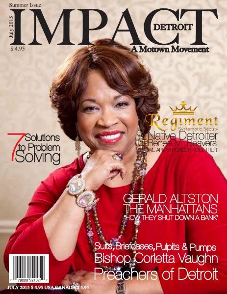 Impact Detroit Magazine Impact Detroit Magazine Summer Issue 2015