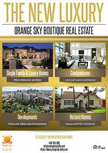 The Orange Sky Boutique Real Estate Sellers Marketing Kit