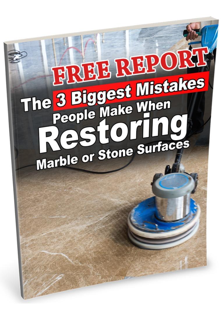 Stone Restoration Free Report Volume 1