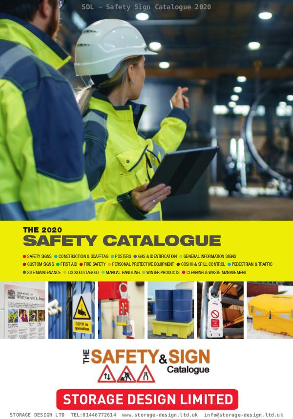 Safety Sign Catalogue 2020 SDL-Safety-Sign-Catalogue-2020