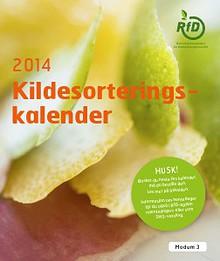 Kildesorteringskalender 2014