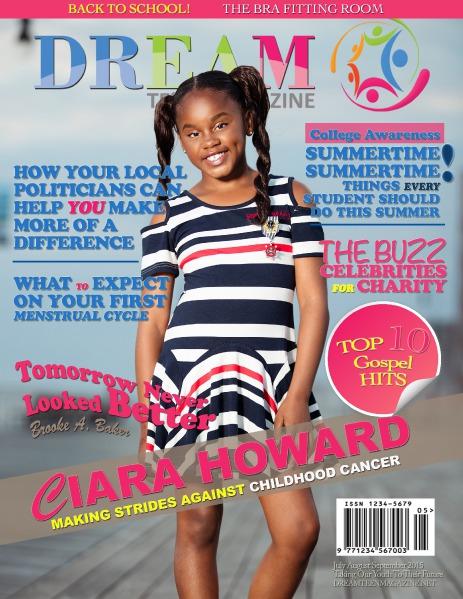 DREAM TEEN Magazine July August September Summer 2015