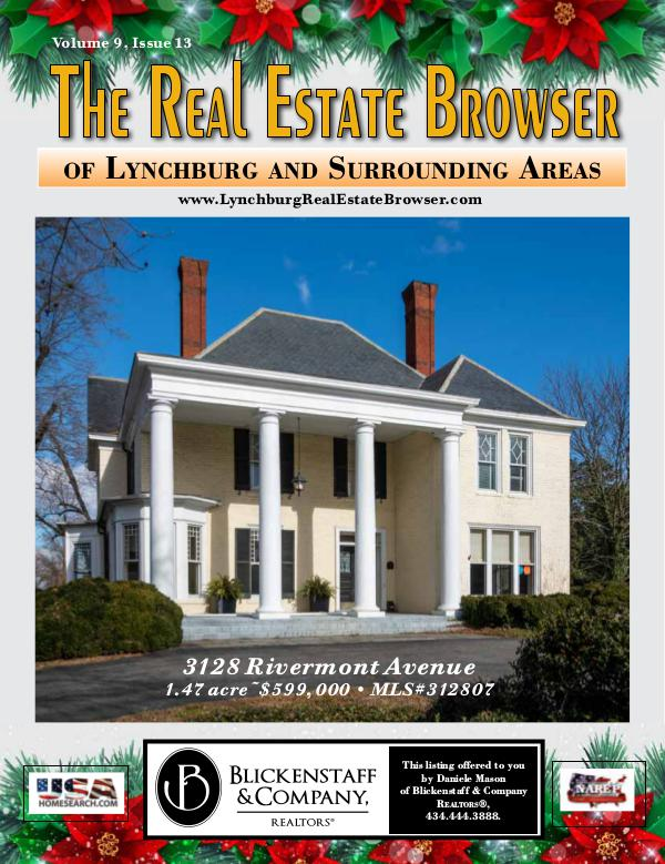 The Real Estate Browser Volume 9, Issue 13