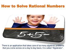 How to Solve Rational Numbers
