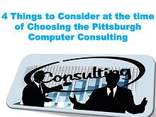 4 Things to Consider at the time of Choosing the Pittsburgh Computer