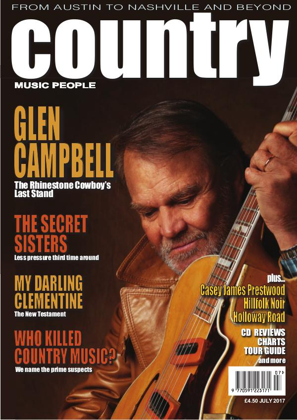Country Music People July 2017