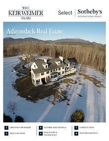 Adirondack Real Estate Market Report | Spring 2016