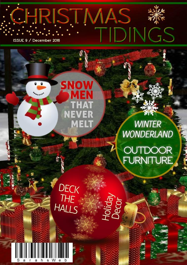 Sarah's Tangled Web Issue 09/December 2016