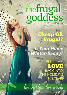 The Frugal Goddess Monthly