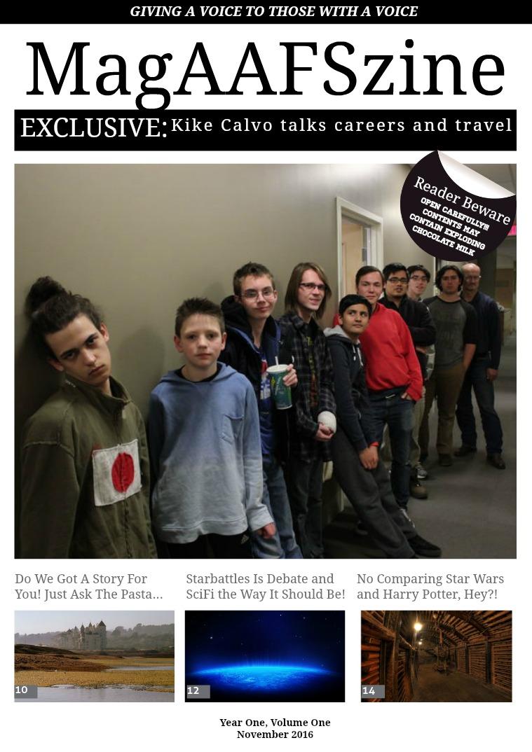 November 2016, Issue 1