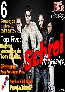 Schrei Magazine.  Schrei Magazine.