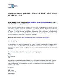 Writing and Marking Instruments Market Size, Share and Analysis