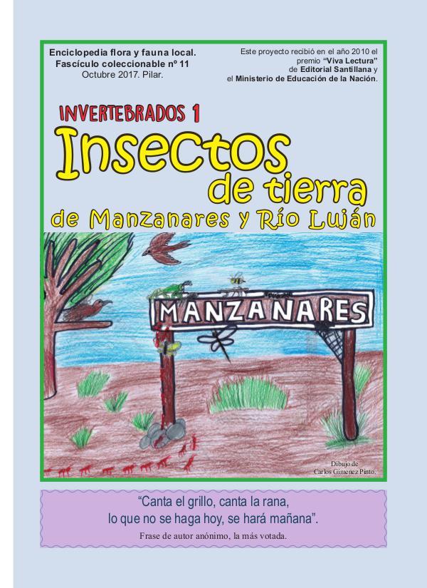 Insectos 1 Biblioteca Popular - fasciculo 11 - insectos