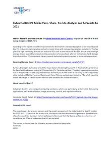Industrial Box PC Market Size, Share, Key vendors and Forecast