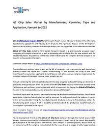IoT Chip Sales Market Size, Production, Gross Margin and Forecasts