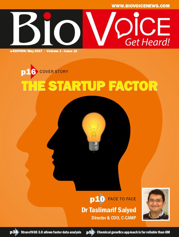 BioVoice News May 2017 Issue 12 Volume 1
